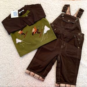 Janie and Jack overall set NWT 6-12 months